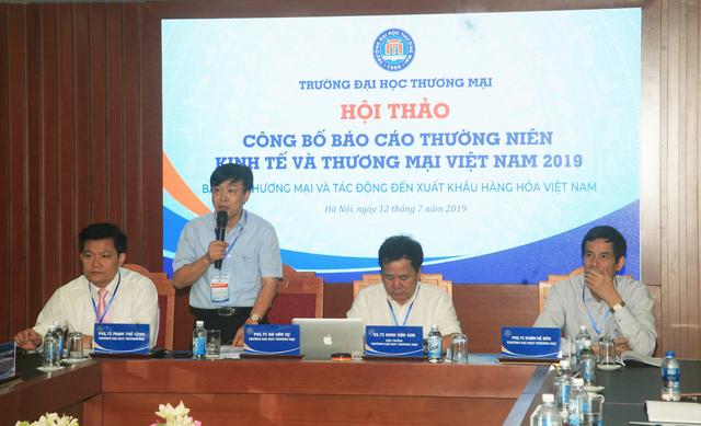 Trường ĐH Thương Mại công bố Báo cáo thường niên Kinh tế và Thương mại Việt Nam 2019 - 1