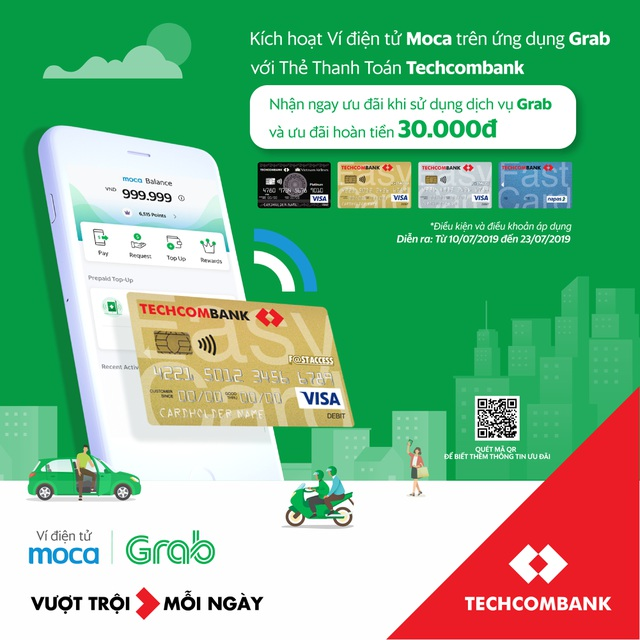 Ví điện tử trên ứng dụng Grab chính thức: Gia tăng lợi ích vượt trội cho khách hàng - 1