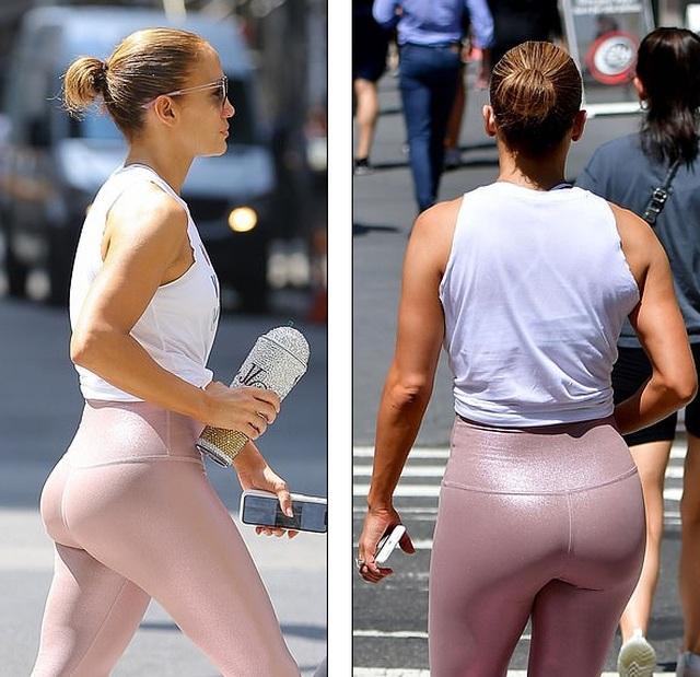 Jennifer Lopez khỏe khoắn ra phố cùng bạn trai - 6
