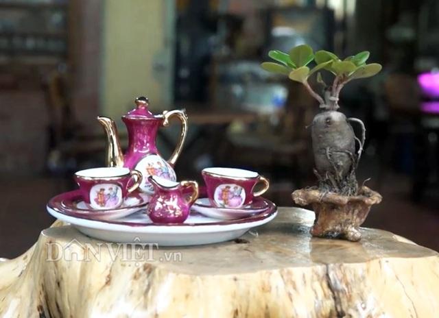Bộ sưu tập gốm: bình trà, ly, tách,...siêu tí hon độc nhất miền Tây - 3