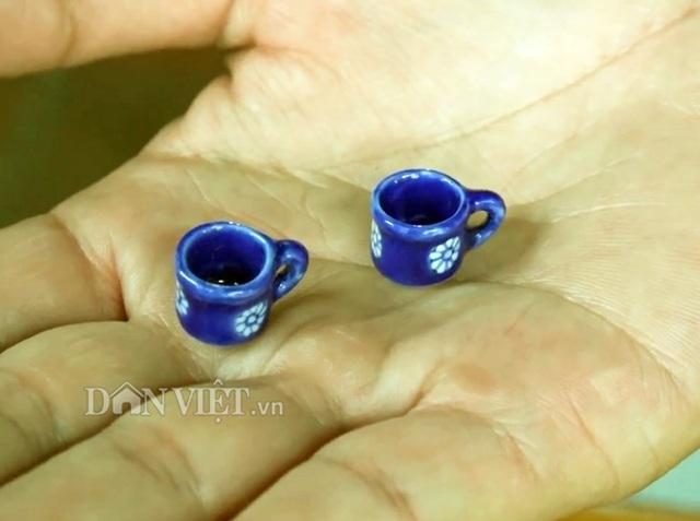 Bộ sưu tập gốm: bình trà, ly, tách,...siêu tí hon độc nhất miền Tây - 5
