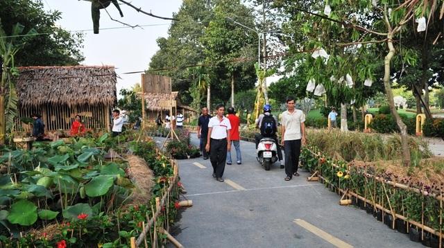Thưởng ngoạn cảnh quê bình dị ngay giữa phố thị Đồng Tháp - 2