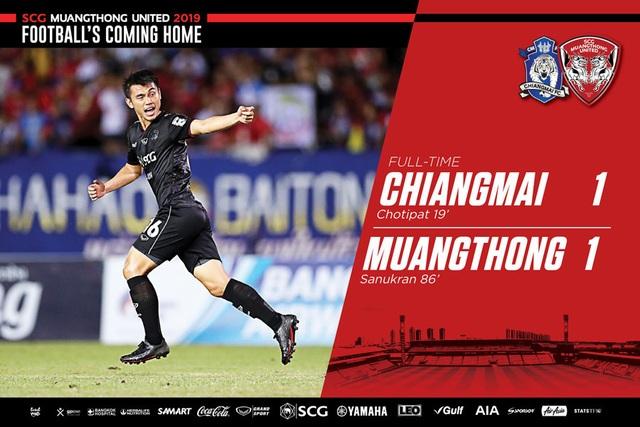 Đặng Văn Lâm giúp Muangthong United giành 1 điểm đầy may mắn