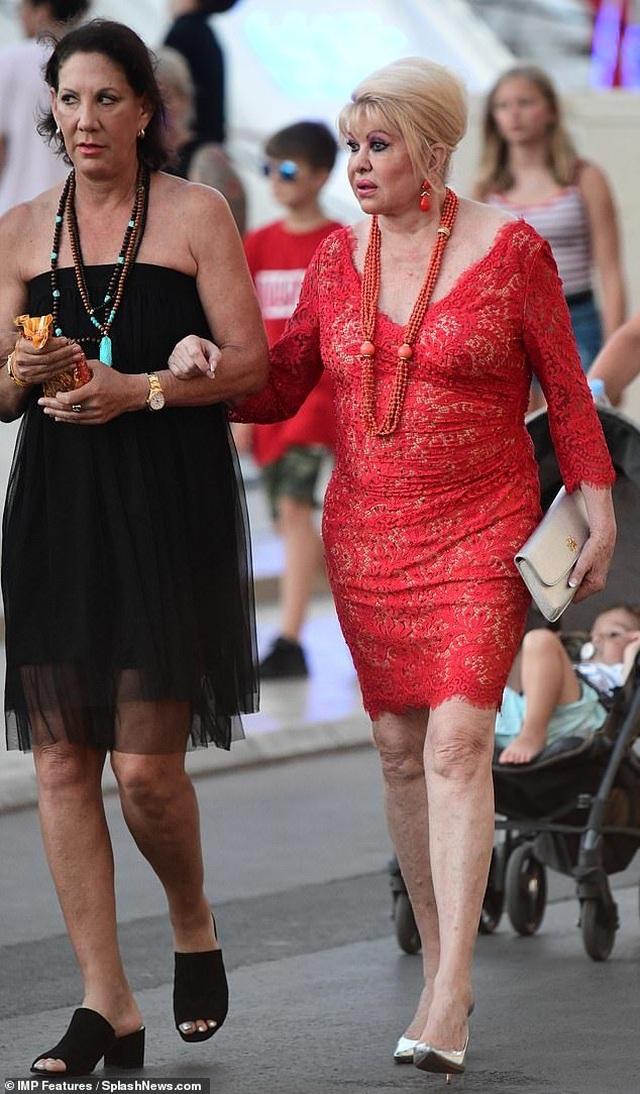 Hình ảnh mới về cựu người mẫu Ivana Trump  - 4
