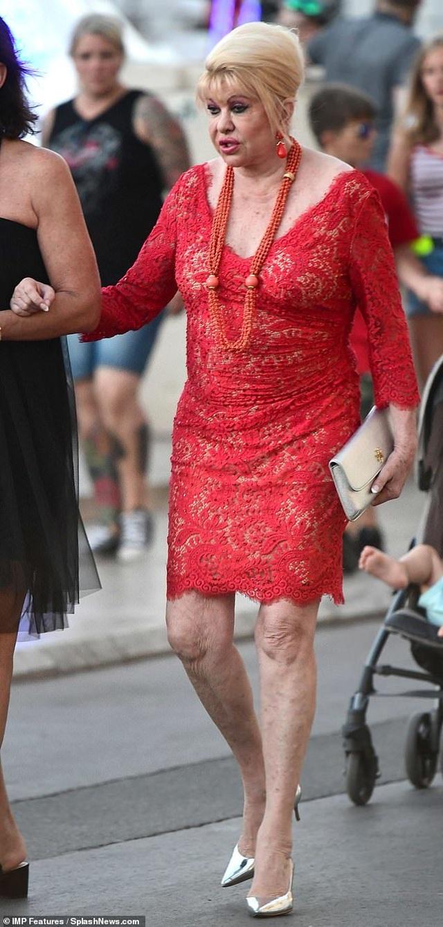 Hình ảnh mới về cựu người mẫu Ivana Trump  - 2