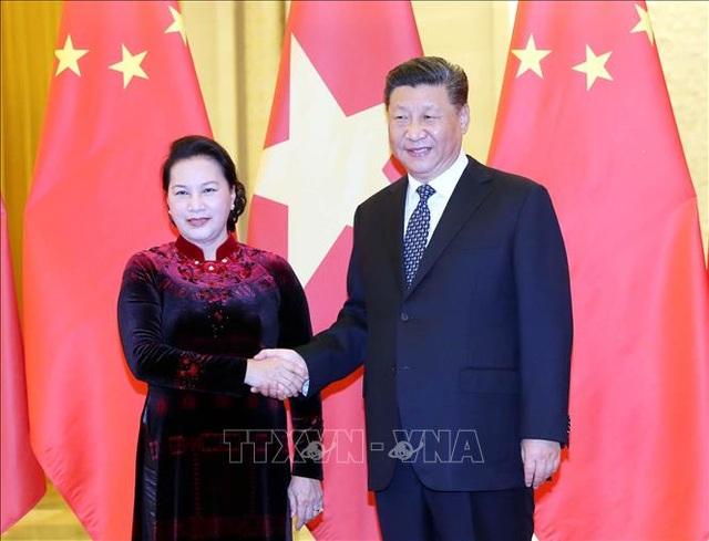 Chủ tịch Quốc hội kết thúc tốt đẹp chuyến thăm chính thức Trung Quốc - 1