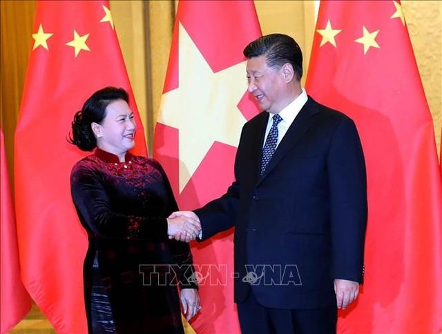 Chủ tịch Quốc hội Nguyễn Thị Kim Ngân hội kiến Tổng Bí thư, Chủ tịch Trung Quốc Tập Cận Bình - 1