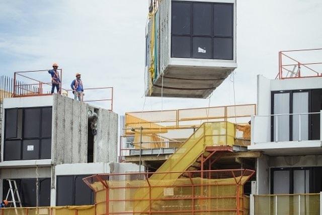 """Xây dựng nhà kiểu mới với phương pháp """"đúc sẵn"""" giống như xếp hình Lego - 1"""