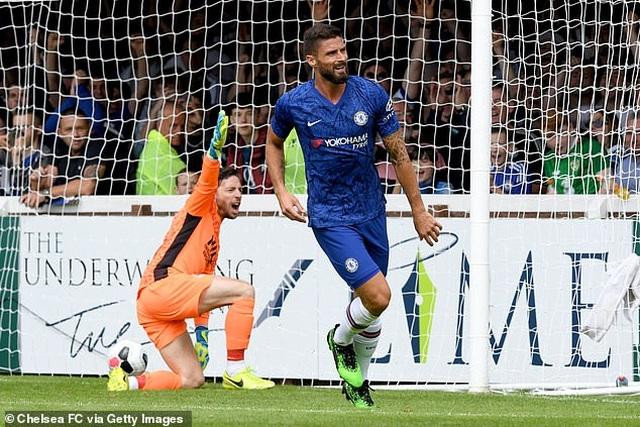 Giroud lập cú đúp, HLV Lampard có chiến thắng đầu tay ở Chelsea - 2