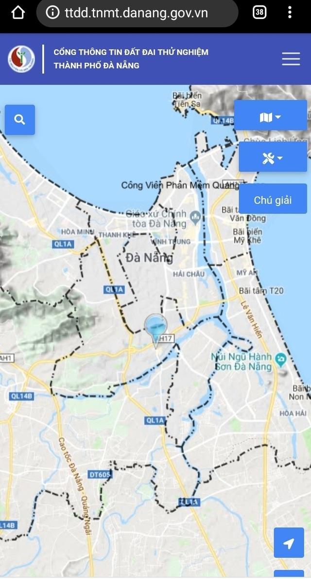 Người dân Đà Nẵng có thể tra cứu thông tin đất đai trên mạng - 1