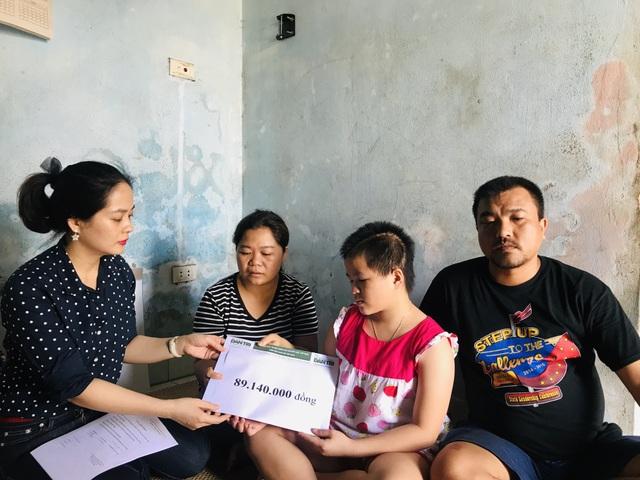 Bạn đọc báo Dân Trí giúp đỡ gia đình bé 7 tuổi bị xe tông tử vong gần 90 triệu đồng - 1