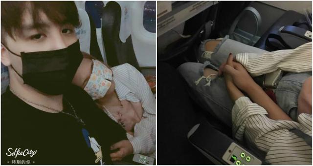Một mực nắm tay cô gái ngồi cạnh trong chuyến bay, anh chàng có ngay người yêu - 1
