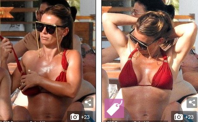 Bà mẹ bốn con Coleen Rooney diện bikini gợi cảm - 3