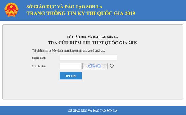 Hà Giang, Sơn La, Hòa Bình đồng loạt lên sớm điểm thi THPT quốc gia 2019 - 1