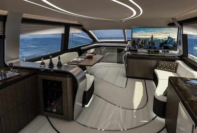 Chiêm ngưỡng chiếc du thuyền hạng sang đầu tiên của Lexus - 2