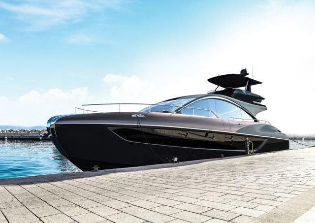 Chiêm ngưỡng chiếc du thuyền hạng sang đầu tiên của Lexus - 3