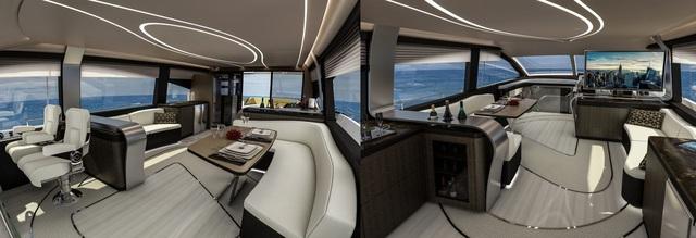 Chiêm ngưỡng chiếc du thuyền hạng sang đầu tiên của Lexus - 4