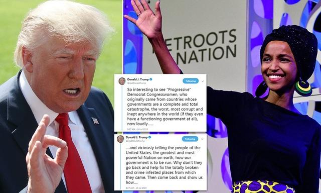 """Ông Trump trút giận lên các nghị sĩ da màu """"dạy bảo"""" nước Mỹ - 1"""