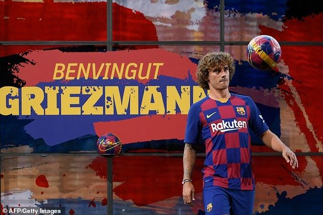 """""""Bom tấn"""" Griezmann rạng rỡ ra mắt Barcelona - 3"""