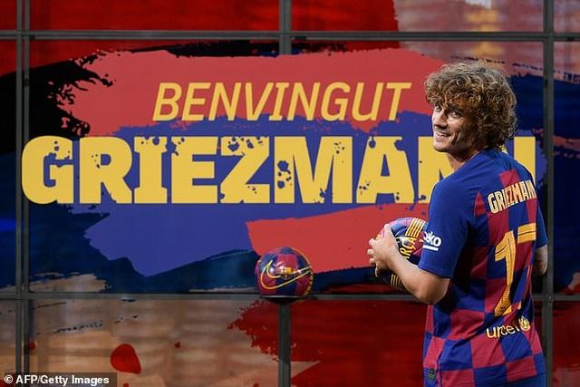 """""""Bom tấn"""" Griezmann rạng rỡ ra mắt Barcelona - 6"""