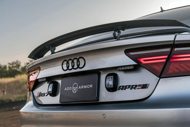 Biến Audi RS7 Sportback thành xe bọc thép nhanh nhất thế giới - 7