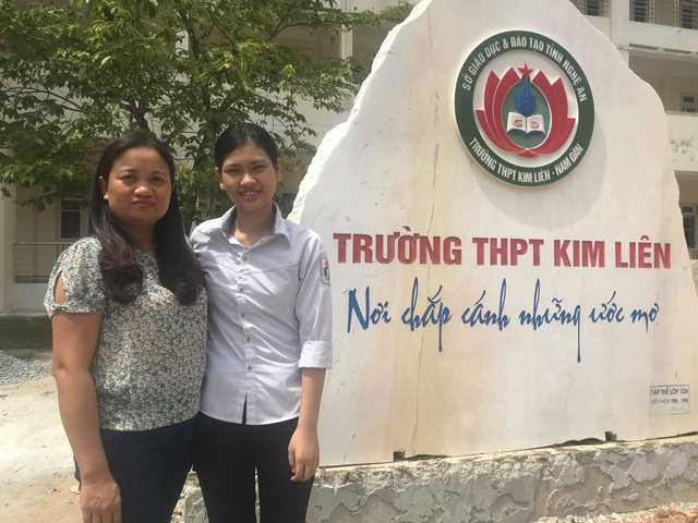 Nữ sinh trường làng xứ Nghệ đạt thủ khoa khối A toàn tỉnh - 3