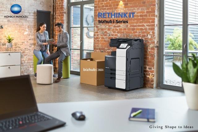 Bizhub i-Series - Thiết bị in ấn đa chức năng thế hệ mới sẽ thay đổi môi trường làm việc - 1