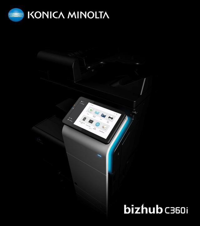 Bizhub i-Series - Thiết bị in ấn đa chức năng thế hệ mới sẽ thay đổi môi trường làm việc - 4