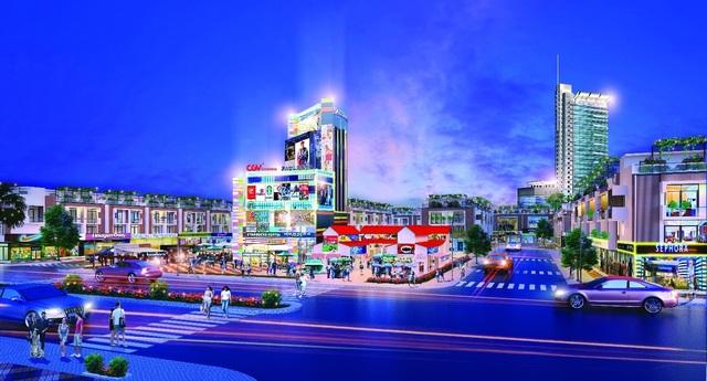Những yếu tố hấp dẫn của khu phức hợp Hana Garden Mall - 1