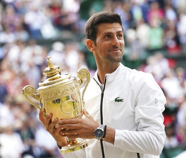 """Djokovic: """"Tôi đã chiến thắng một tay vợt vĩ đại như Federer"""" - 1"""
