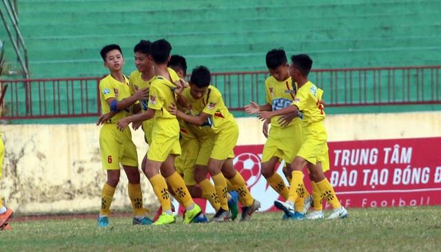 U13 SL Nghệ An lên ngôi vô địch giải bóng đá Thiếu niên toàn quốc - 2