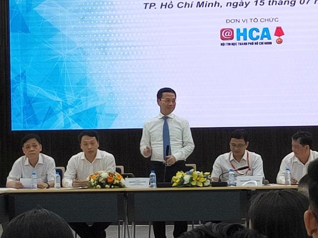 """Bộ trưởng Bộ TTTT: """"Sứ mệnh Việt Nam hùng cường đặt lên vai các doanh nghiệp CNTT"""" - 2"""