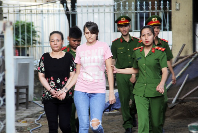 Hotgirl người Nga điều hành đường dây bán dâm cao cấp tại Sài Gòn - 2