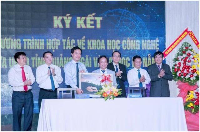ĐH Đà Nẵng ký kết hợp tác khoa học công nghệ với tỉnh Quảng Ngãi - 1