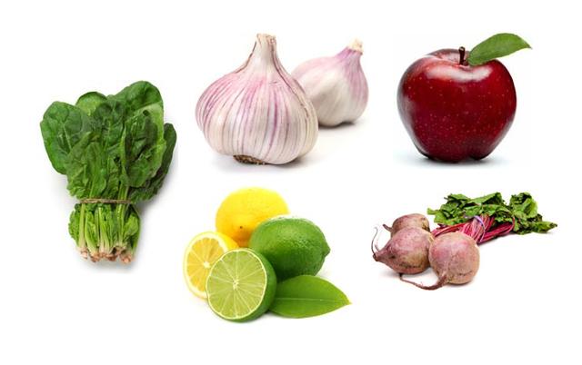 14 thực phẩm làm sạch gan - 1