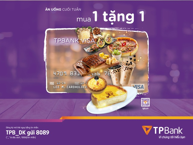TPBank triển khai nhiều ưu đãi cho chủ thẻ tín dụng - 2