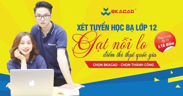 Học viện CNTT Bách Khoa (BKACAD) thông báo điểm chuẩn xét tuyển học bạ 2019 - 2