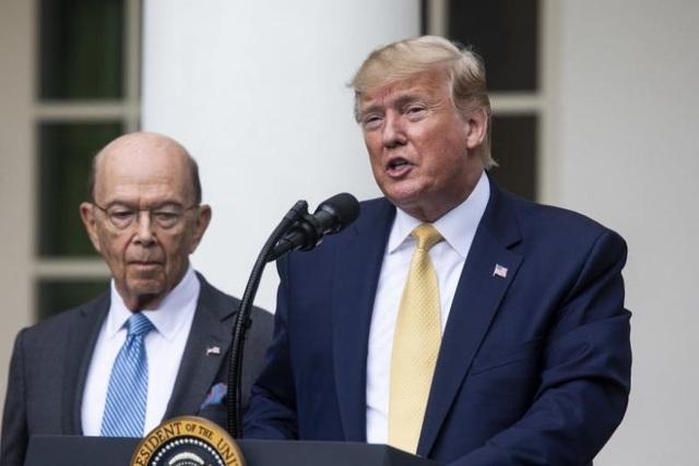 Báo Mỹ: Ông Trump sắp sa thải Bộ trưởng Thương mại - 1