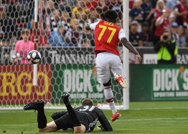 Tân binh lập công, Arsenal giành chiến thắng đầu tiên ở tour du đấu - 1