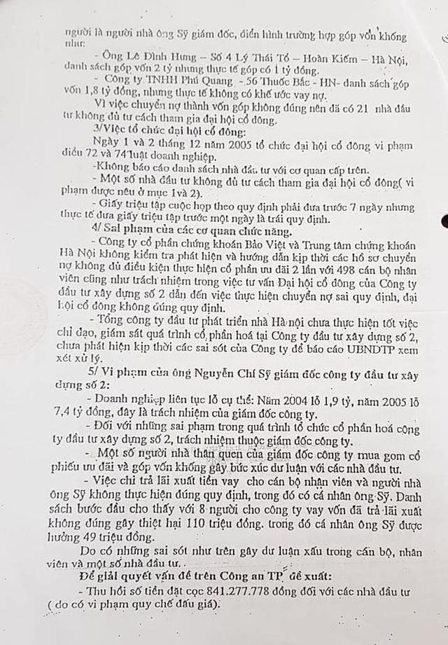Chuyển hồ sơ về sai phạm của nguyên Giám đốc Công ty Hacinco đến Công an TP Hà Nội - 4