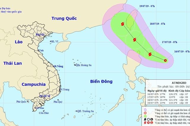 Xuất hiện áp thấp nhiệt đới gần Biển Đông có khả năng thành bão - 1