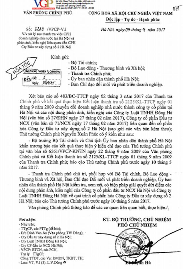 Chuyển hồ sơ về sai phạm của nguyên Giám đốc Công ty Hacinco đến Công an TP Hà Nội - 6