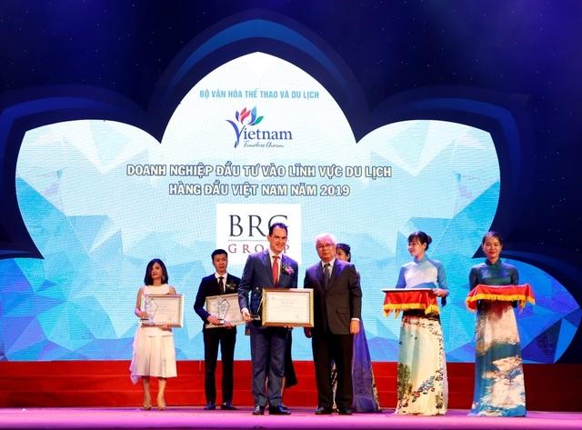 Tập đoàn BRG được vinh danh nhiều giải tại Giải thưởng Du lịch Việt Nam 2019 - 1