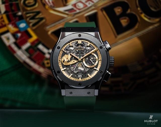 Dấu ấn Việt Nam trên chiếc đồng hồ Hublot Classic Fusion WBCđộc bản - 2