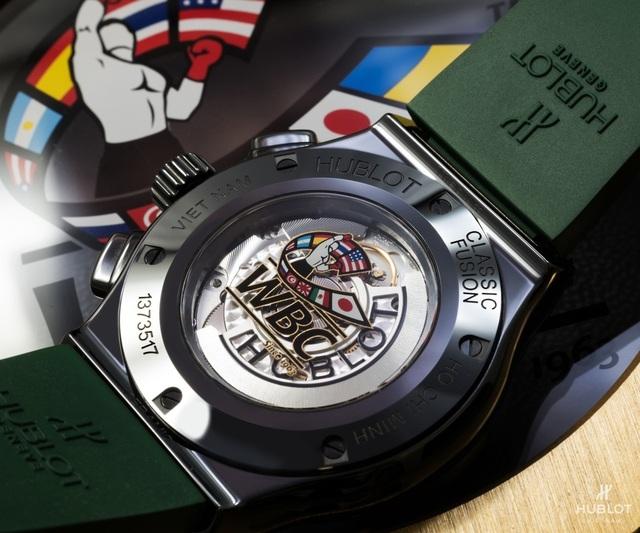 Dấu ấn Việt Nam trên chiếc đồng hồ Hublot Classic Fusion WBCđộc bản - 4
