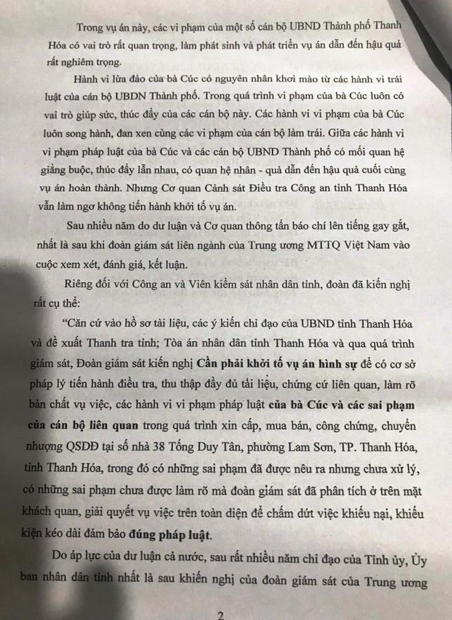 Kỳ án 1 thửa đất 4 sổ đỏ: Chỉ đạo của Bí thư tỉnh uỷ Thanh Hoá đang bị phớt lờ? - 4