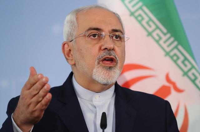 """Ngoại trưởng Iran cảnh báo Mỹ đang """"đùa với lửa"""" - 1"""