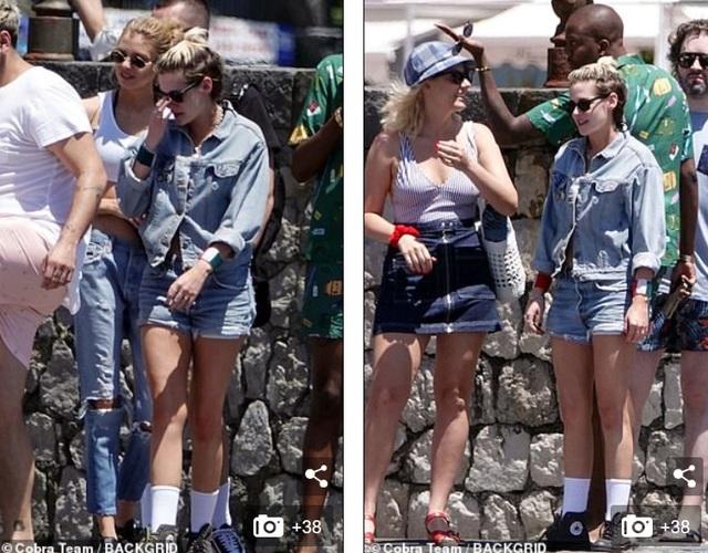 Kristen Stewart và bạn gái Stella Maxwell đi nghỉ hè tại Ý - 10