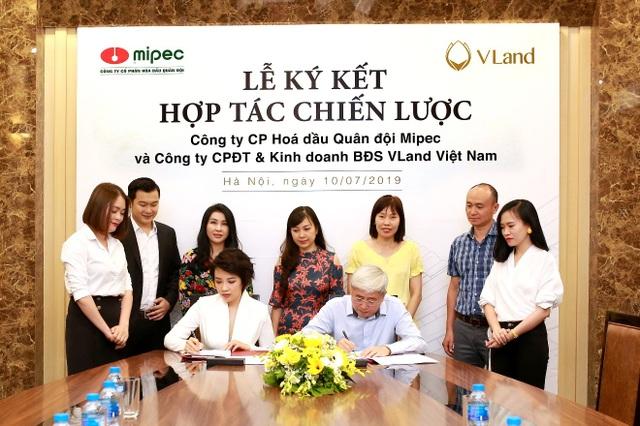 VLand ký kết hợp tác toàn diện cho chuỗi dự án bất động sản của Mipec - 1
