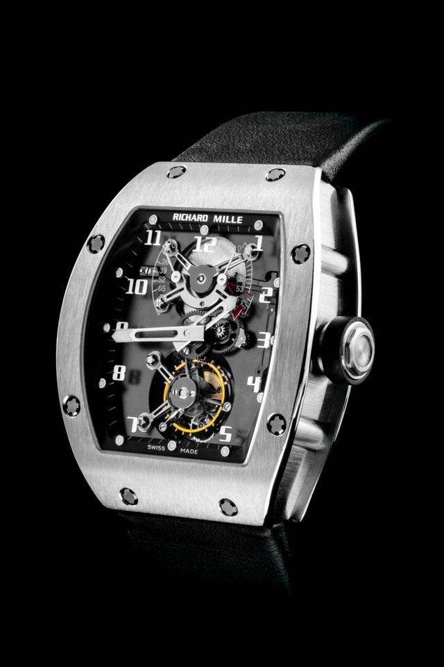 RM 001 Tourbillon - chiếc đồng hồ làm nên tên tuổi Richard Mille   - 1